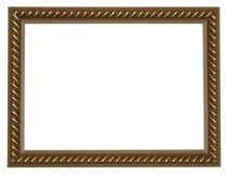 Frame do ouro Imagem de Stock