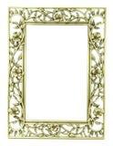Frame do ouro Fotos de Stock Royalty Free