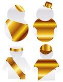 Frame do ouro Ilustração Stock