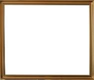 Frame do ouro Fotografia de Stock Royalty Free