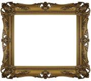 Frame do ouro Fotos de Stock
