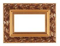 Frame do ouro Fotografia de Stock