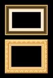 Frame do ouro de Brown Imagem de Stock Royalty Free