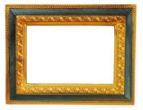 Frame do ouro do retrato Fotografia de Stock