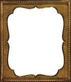 Frame do ouro do vintage Foto de Stock Royalty Free
