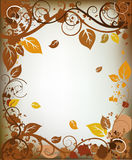 Frame do outono Imagem de Stock Royalty Free