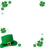 Frame do Shamrock Foto de Stock Royalty Free