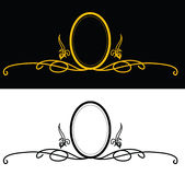 Frame do teste padrão Ilustração Royalty Free
