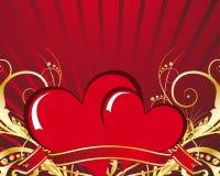 Frame do Valentim ilustração do vetor
