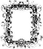 Frame do Valentim de Grunge, vetor ilustração stock