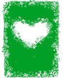 Frame do Valentim de Grunge, vetor Fotografia de Stock