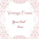 Frame do vintage Imagem de Stock Royalty Free
