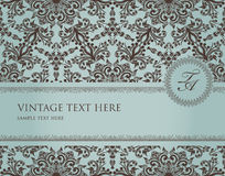 Frame do vintage Imagens de Stock Royalty Free