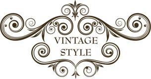 Frame do vintage Foto de Stock Royalty Free