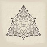Frame do vintage do vetor Imagem de Stock Royalty Free