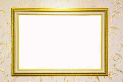 Frame do vintage isolado no branco Fotografia de Stock