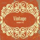 Frame do vintage do vetor Foto de Stock