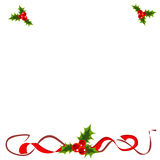 frame do xmas Foto de Stock Royalty Free