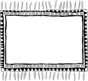 Frame doodle Royalty Free Stock Images