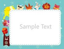 Frame dos animais Imagem de Stock Royalty Free