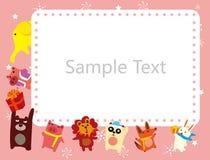 Frame dos animais Fotos de Stock