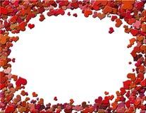 Frame dos corações Imagem de Stock