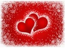 Frame dos corações dos Valentim Imagem de Stock Royalty Free