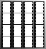 frame dos frames da tira da película de 35mm ilustração royalty free