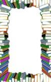 Frame dos livros Fotografia de Stock Royalty Free