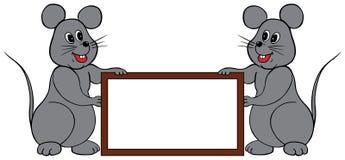 Frame dos ratos Imagens de Stock