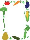 Frame dos vegetais Imagens de Stock