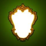 Frame dourado ilustração royalty free