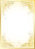 Frame dourado Imagem de Stock
