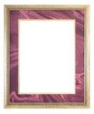 Quadro dourado Fotografia de Stock Royalty Free