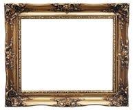 Frame dourado Fotografia de Stock Royalty Free