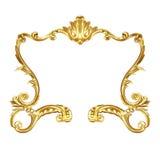Frame dourado Imagem de Stock Royalty Free