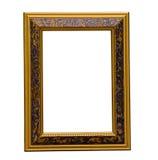 Frame dourado antigo Imagem de Stock Royalty Free