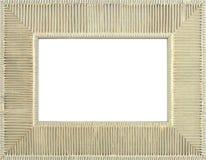 Frame dourado da foto Fotos de Stock