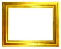 Frame dourado envelhecido ilustração do vetor