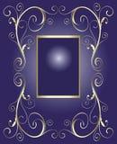 Frame dourado para o texto Imagens de Stock Royalty Free