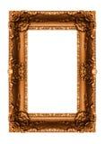 Frame dourado velho Fotografia de Stock