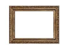 Frame dourado velho imagens de stock royalty free