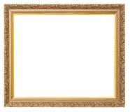 Frame dourado velho bonito imagens de stock royalty free