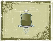 Frame e emblemas abstratos Fotos de Stock Royalty Free
