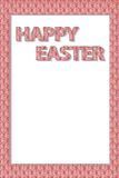 Frame on Easter wishes Stock Photography
