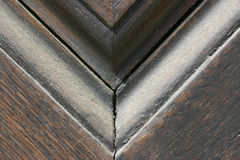Frame edge. Close up of a frame edge stock images