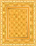Frame elegante do laço Imagem de Stock Royalty Free