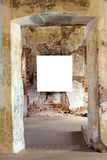 Frame em branco da pintura Imagens de Stock