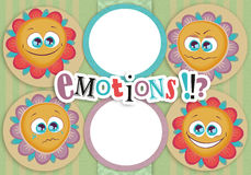 Frame emotions Royalty Free Stock Photography