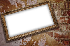 Frame with emty blank Royalty Free Stock Images